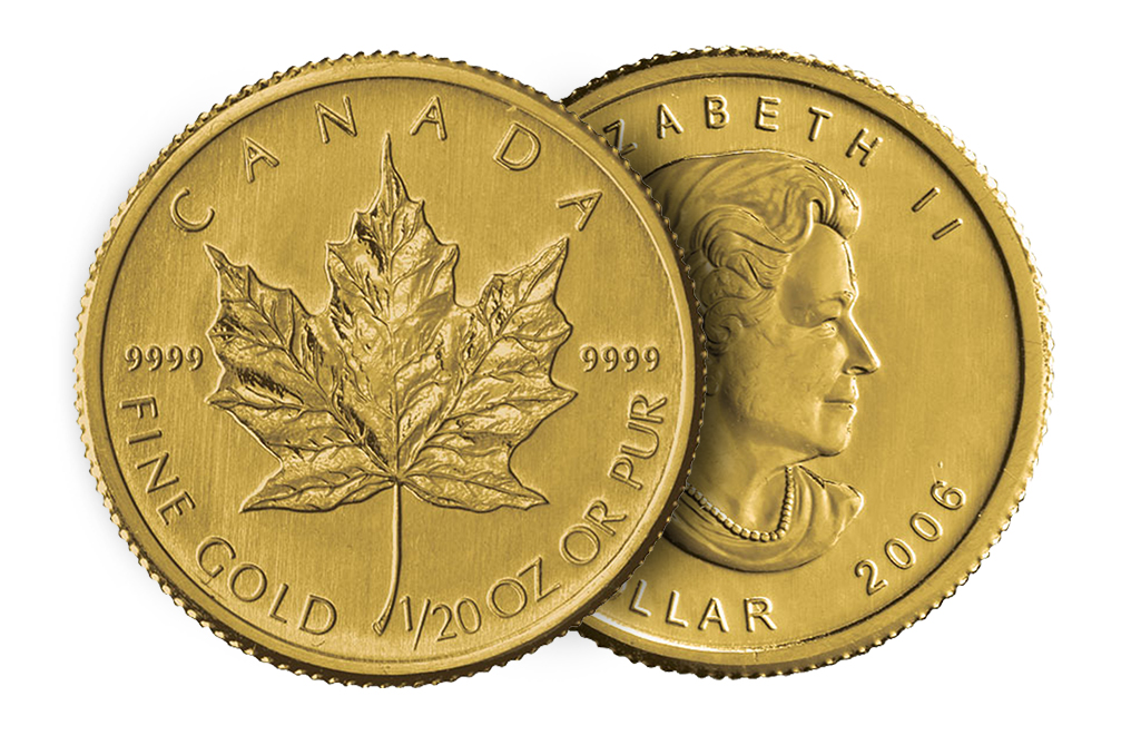 Sell 1/20 oz Gold Canadian Maple Leaf Coins, image 2