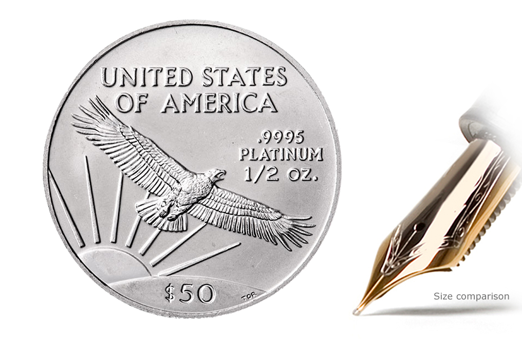 Buy 1/2 oz Platinum Eagle Coins | Buy Platinum Coins | KITCO