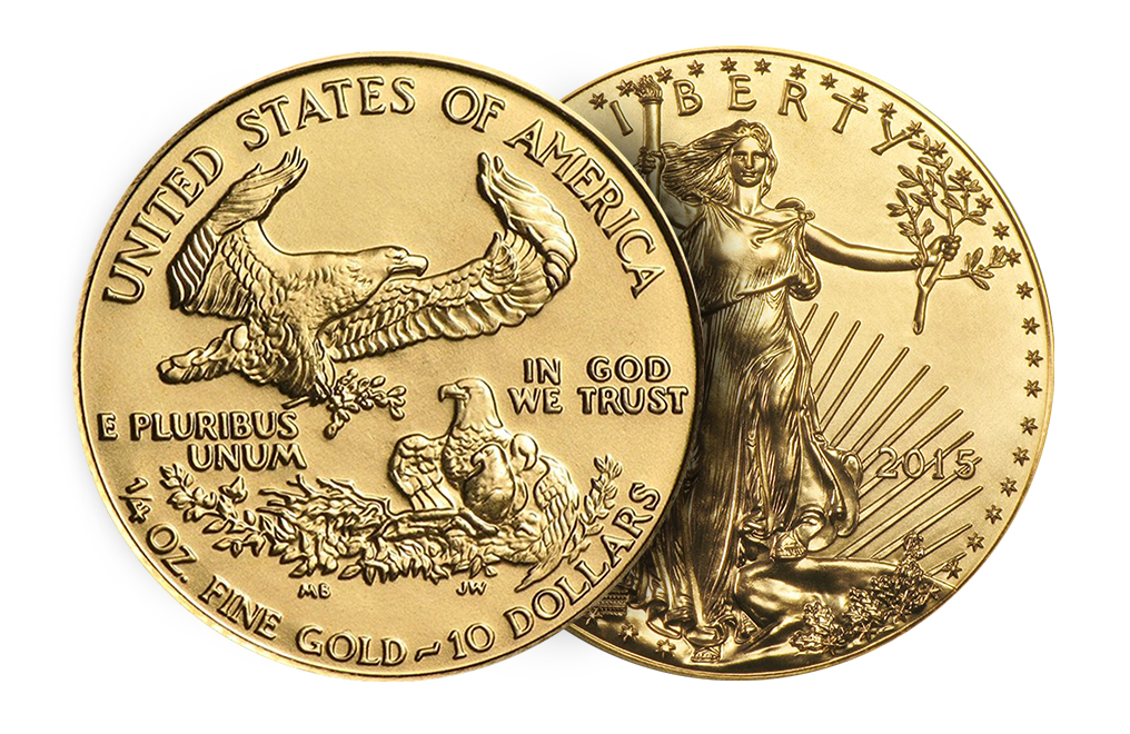 Sell 1/4 oz Gold American Eagle Coin, image 2