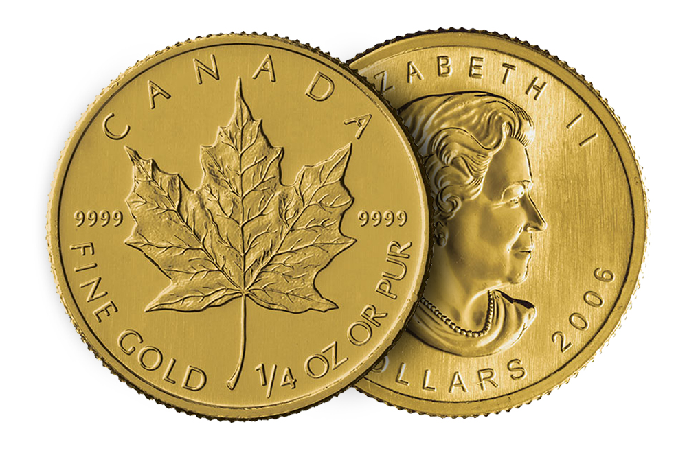 Buy 1/4 oz Gold Canadian Maple Leaf Coins, image 2