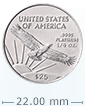 1/4 oz Platinum American Eagle Coin