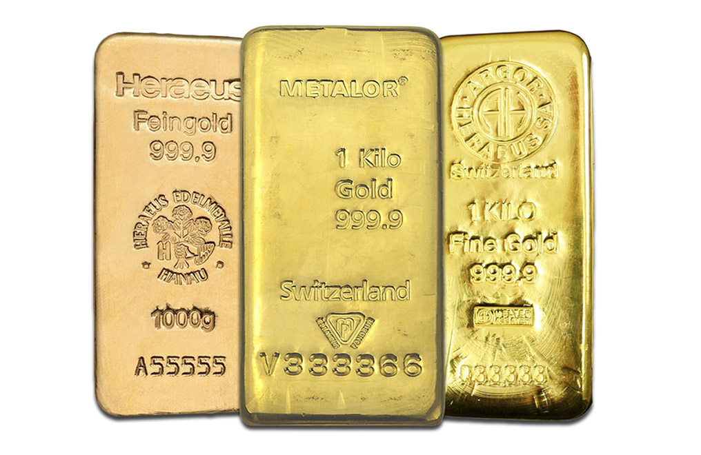 Buy Kilo Gold Bars, image 0