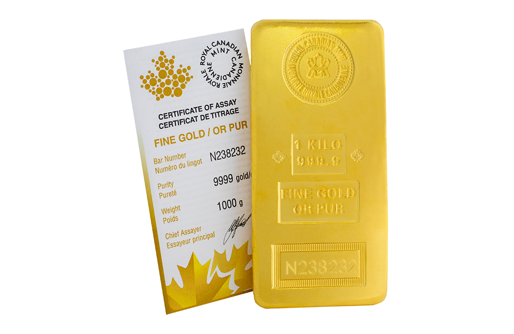 Buy RCM kilo Gold Bars, image 1