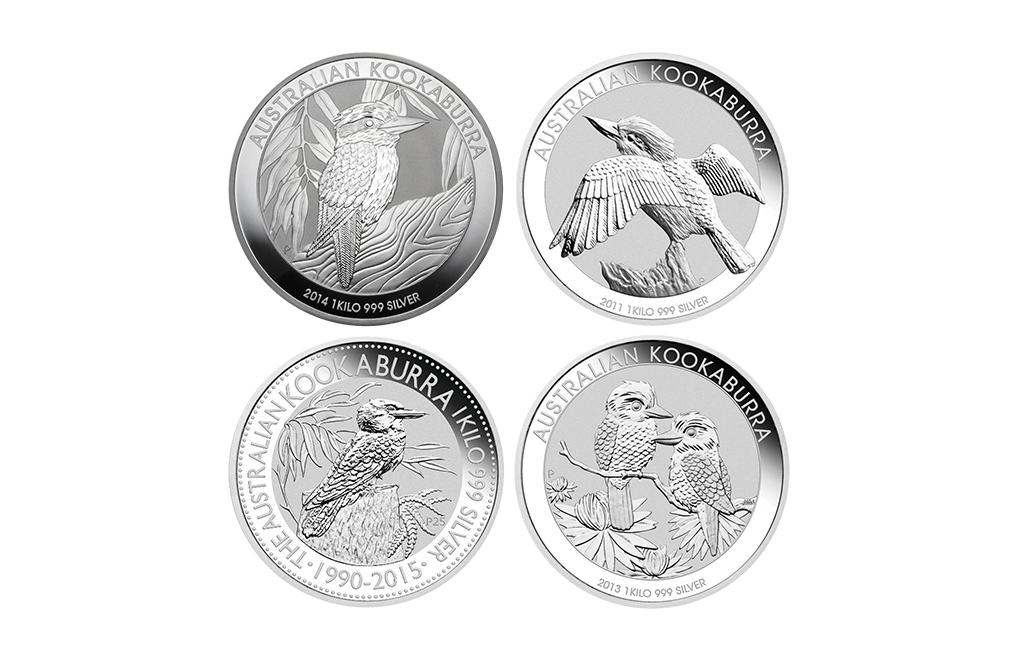 Sell 1 Kilo Silver Kookaburra Coins Random Year Image 0