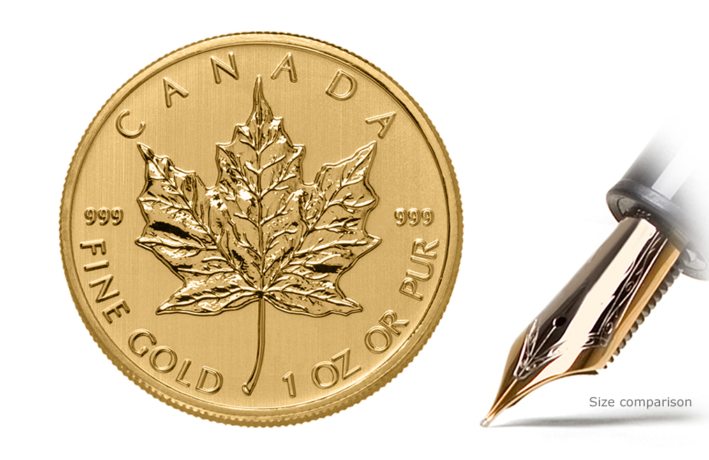 1979 - 1982 1 oz Gold Canadian Maple Leaf Coin .999 Purity, image 0