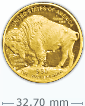 1 oz Gold American Buffalo Coin[US shipping week of April 20]