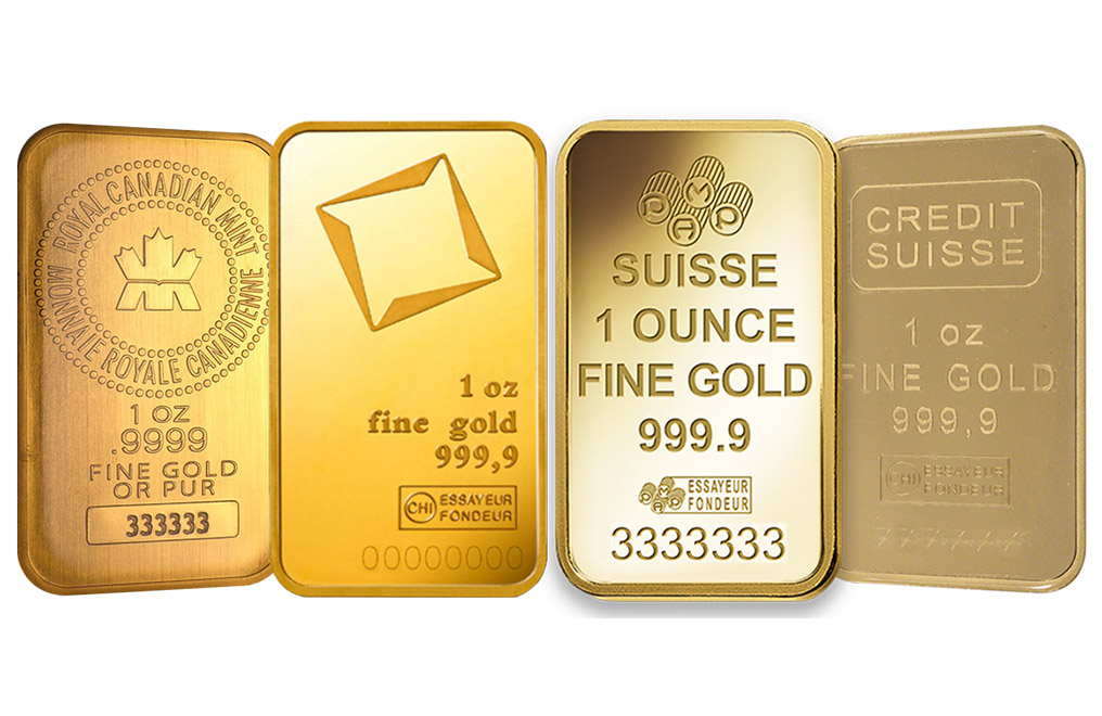 Buy 1 oz Gold Bars, image 0