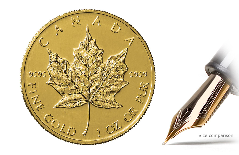 Buy 1 Oz Canadian Gold Maple Leaf Coins Buy Gold Coins