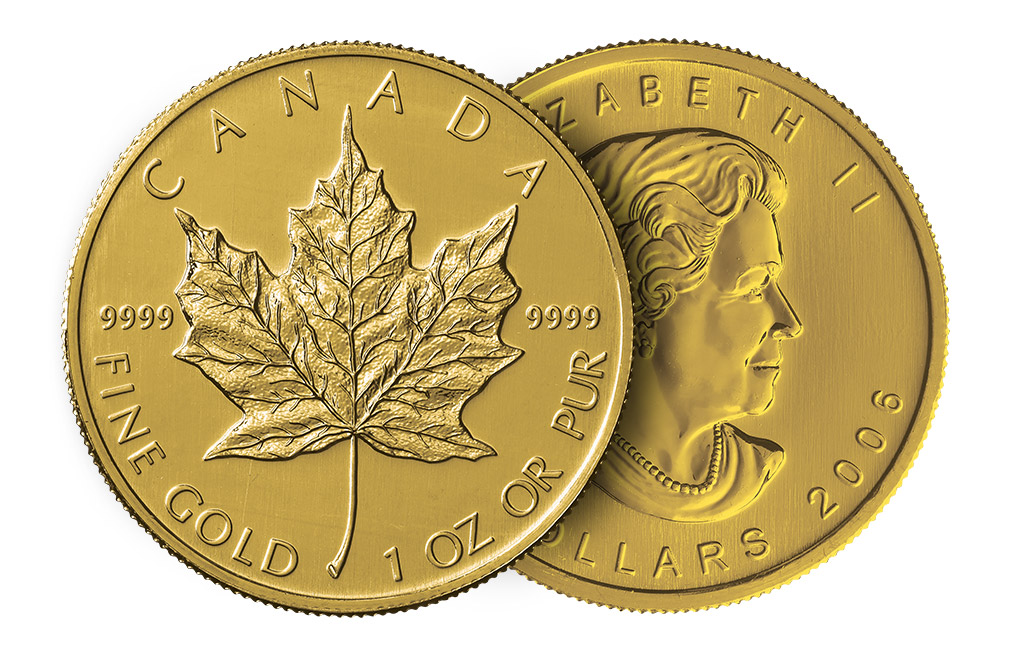Buy 1 oz Canadian Gold Maple Leaf Coins | Buy Gold Coins | KITCO