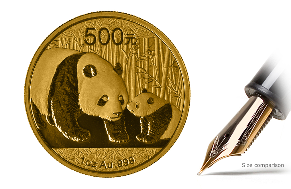 Buy 1 oz Gold Panda Coins, image 0