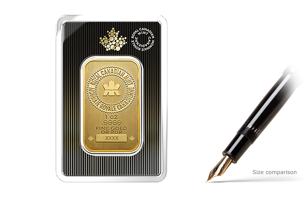 Buy Canadian 1 oz Gold Bars, image 0
