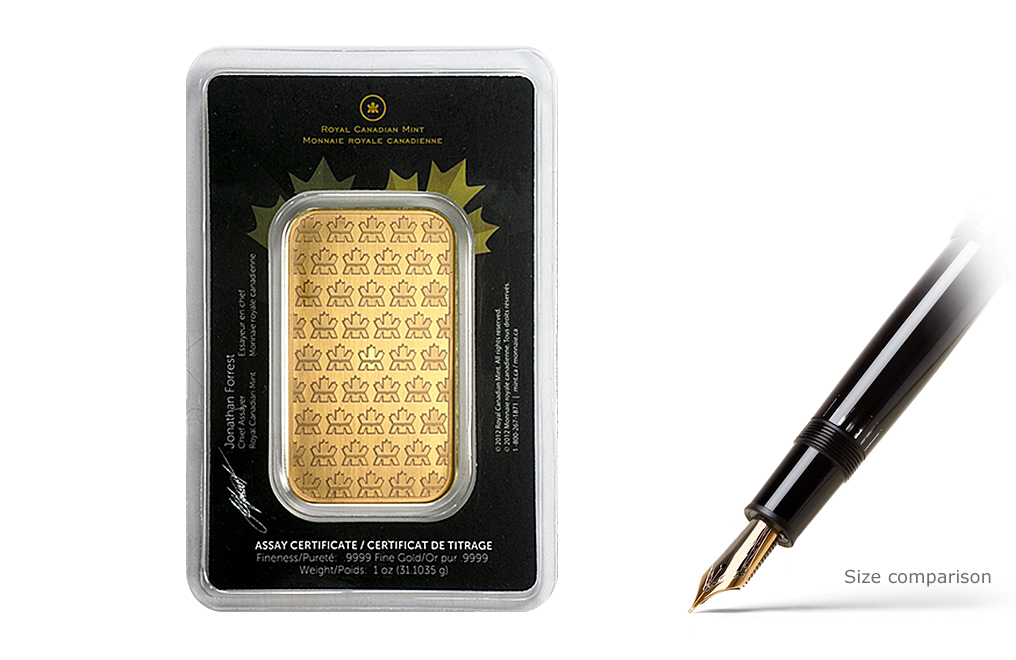Sell 1 oz RCM Gold Bars, image 3