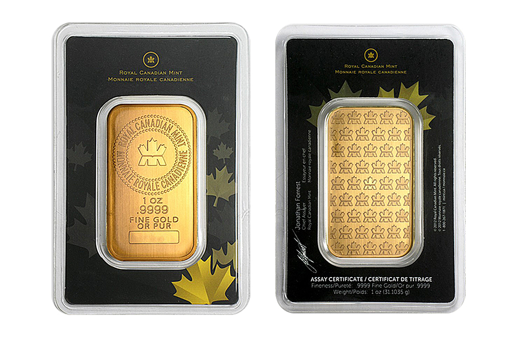 Buy Canadian 1 oz Gold Bars, image 5