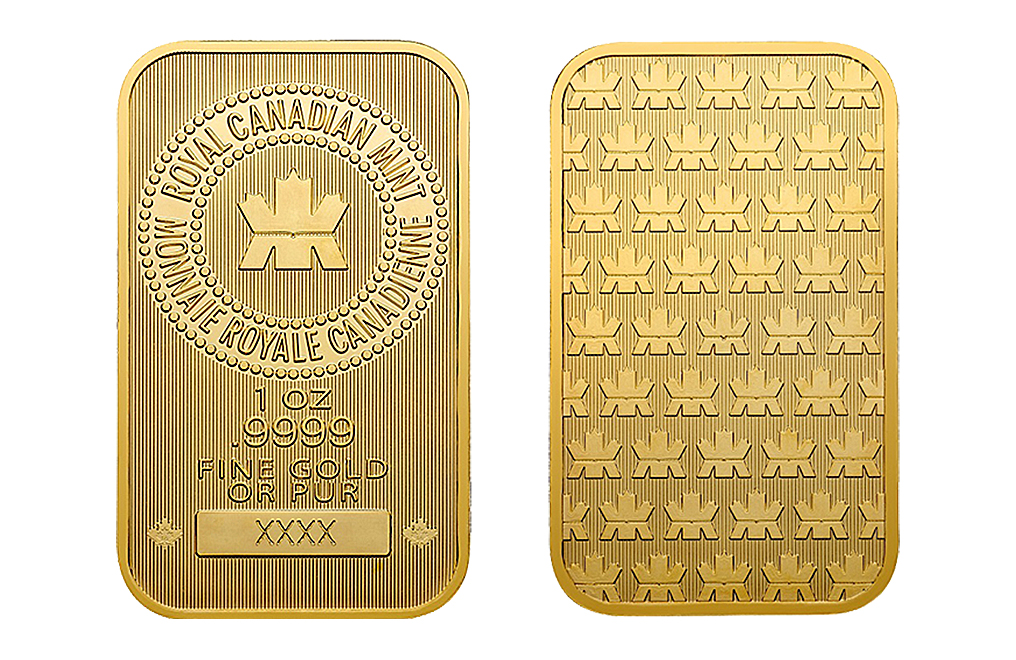 Buy Canadian 1 oz Gold Bars, image 6