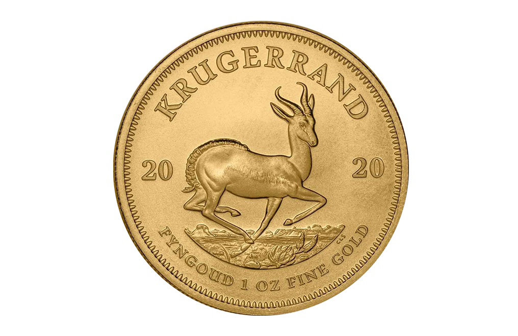 Buy 1 oz South African Gold Krugerrand Coins, image 0