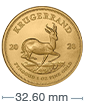 1 oz Gold South African Krugerrand Coin[US shipping week of April 20]