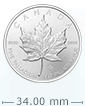 1 oz Palladium Canadian Maple Leaf Coin