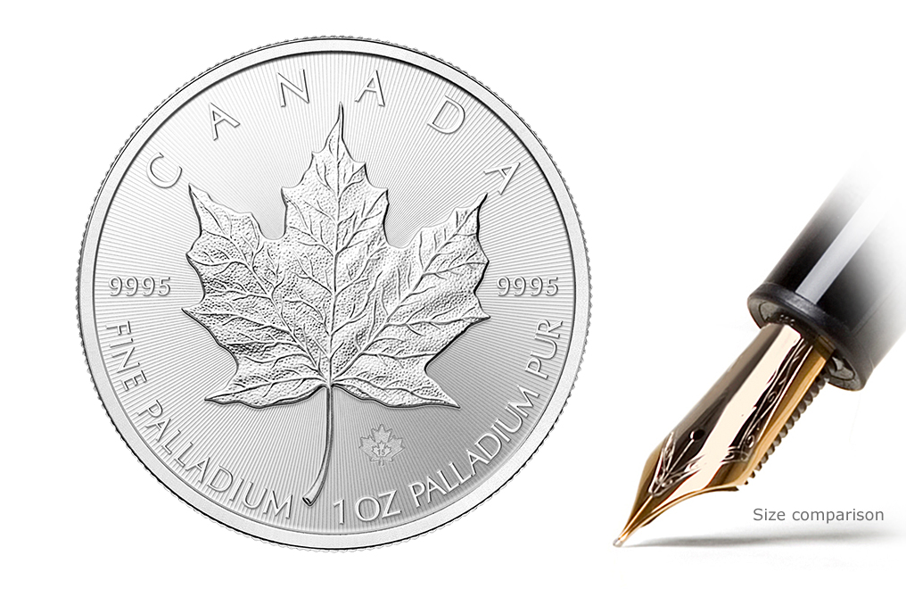 Sell 1 oz Palladium Canadian Maple Leaf Coins, image 0