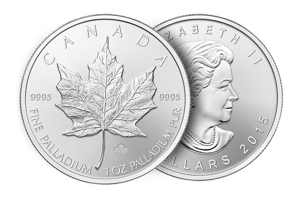 Sell 1 oz Palladium Canadian Maple Leaf Coins, image 2