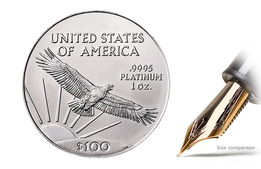 Sell 1 oz Platinum American Eagle Coins, image 0