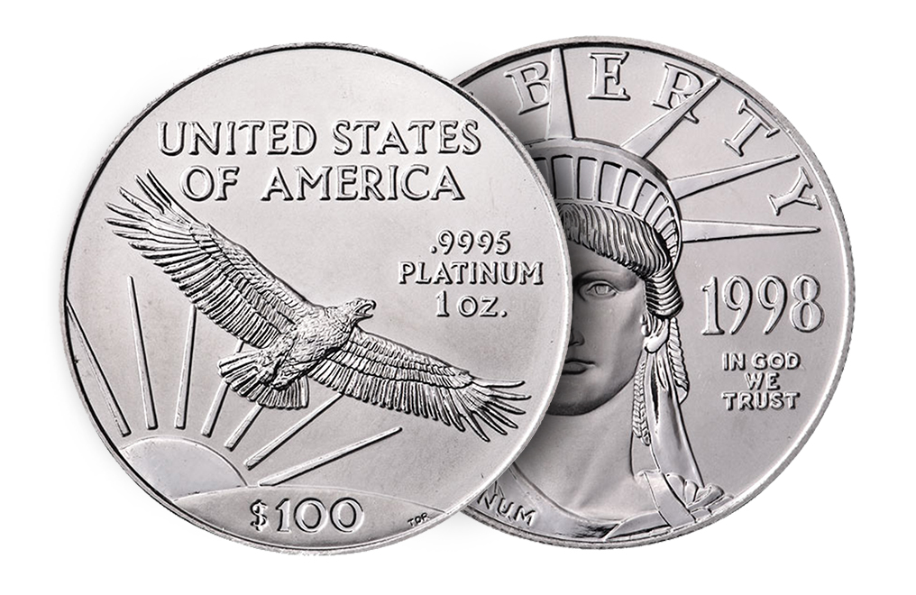Sell 1 oz Platinum American Eagle Coins, image 2