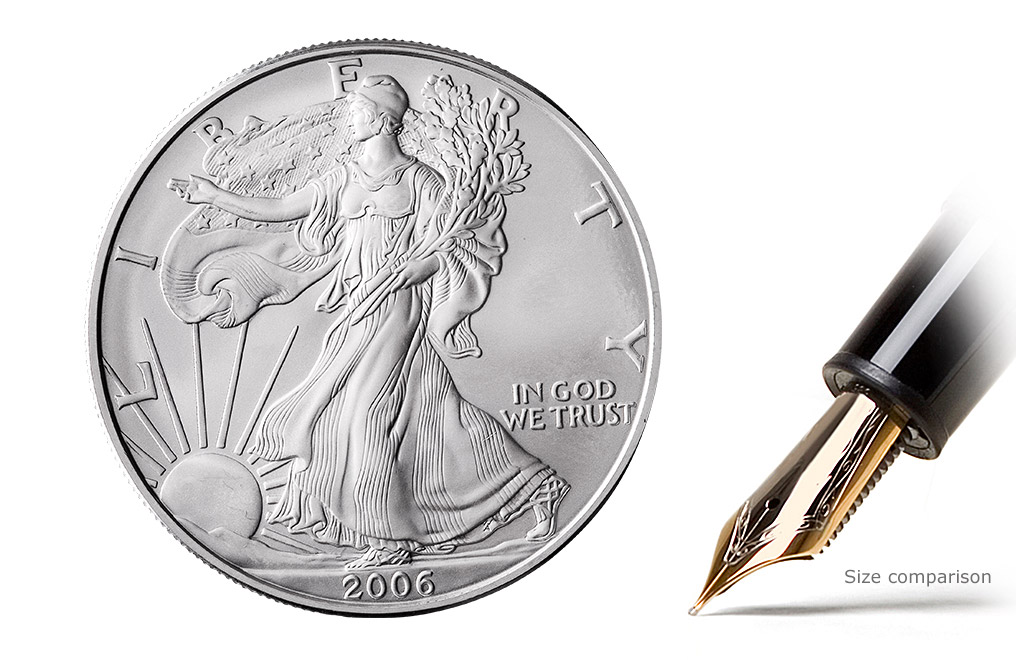 Buy Silver American Eagle Coins, image 1