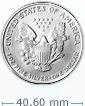 1 oz Silver American Eagle Coin[US shipping week of April 20]