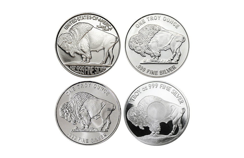 1 oz Silver Buffalo Round (Various Mints), image 0