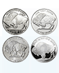 1 oz Silver Buffalo Round (Various Mints)  [Please call regarding Elemetal, OPM, NTR & Provident Metals brands.]