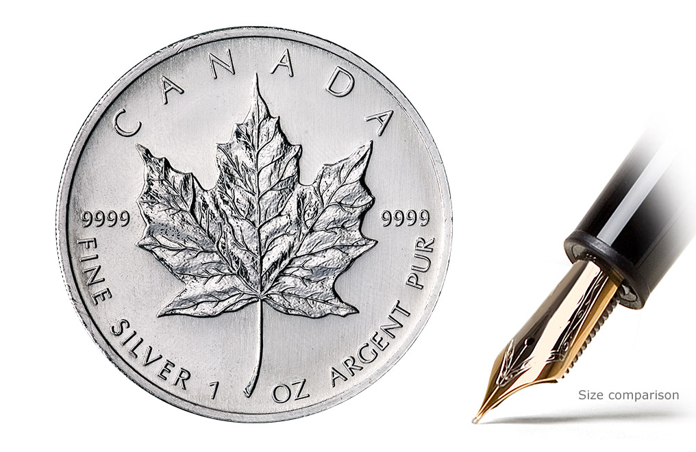 Sell Canadian Silver Maple Leaf Coins, image 0
