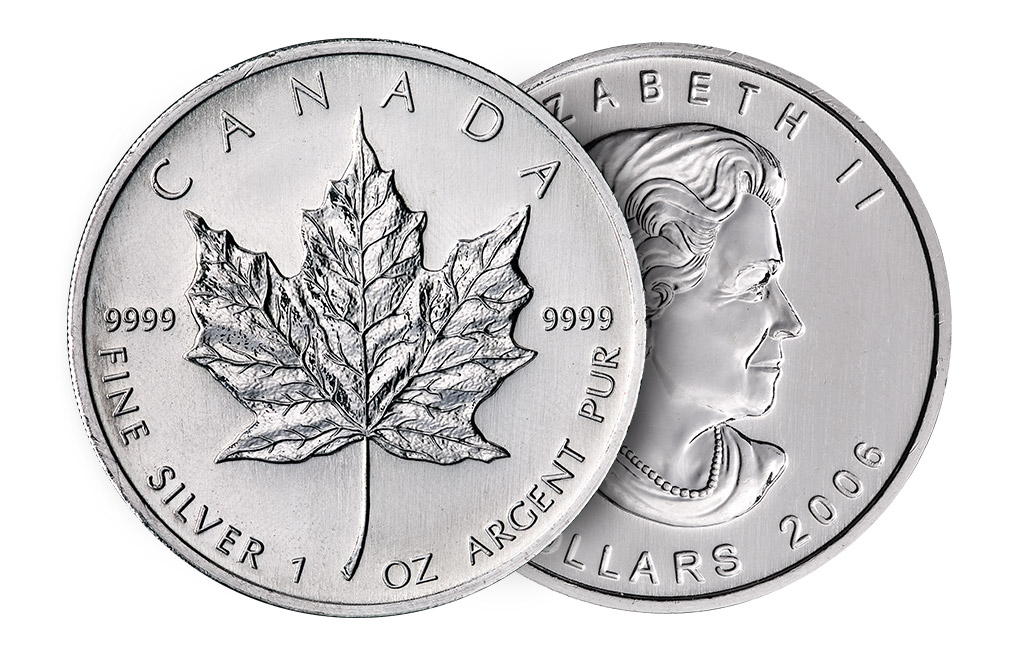Sell Canadian Silver Maple Leaf Coins, image 2