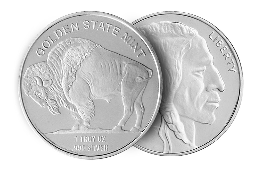 Sell 1 oz Silver Buffalo Rounds, image 2