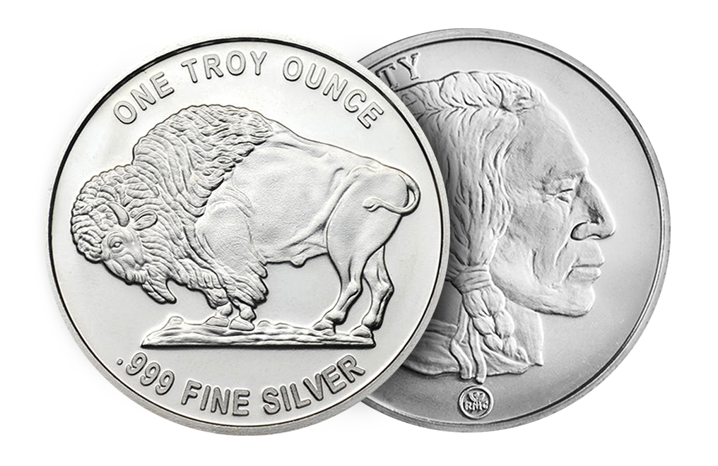 Buy Rmc 1 Oz Silver Buffalo Rounds Buy Silver Rounds Kitco