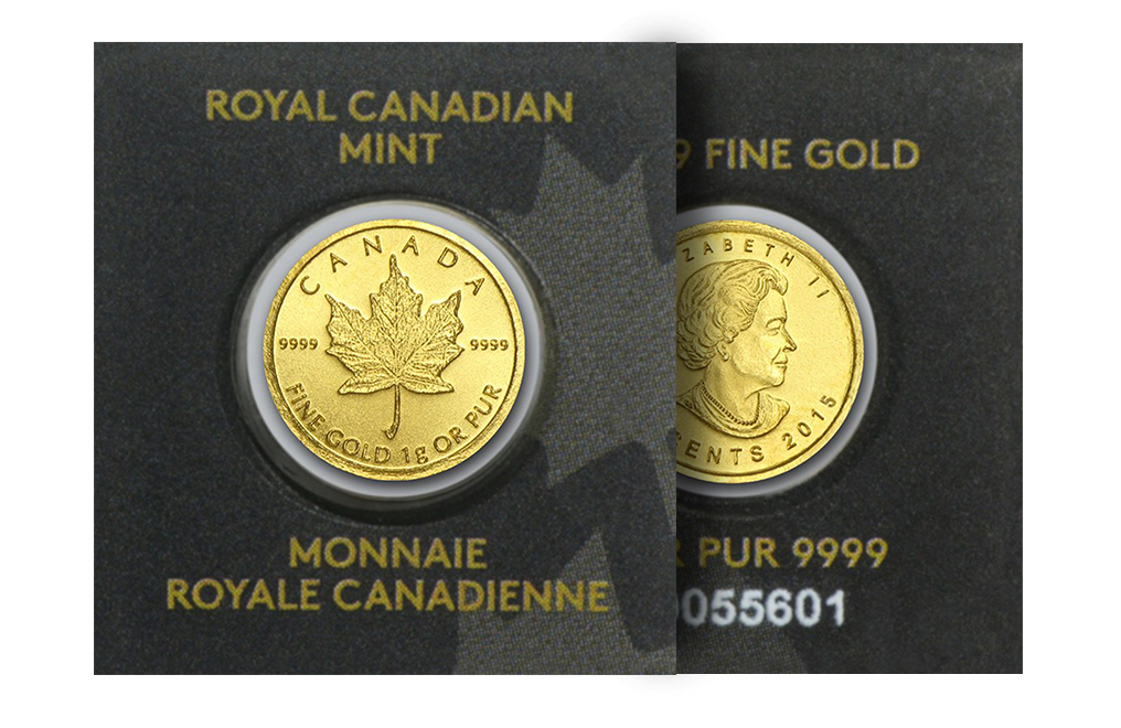 Buy 1 gram Gold MapleGram Coins (Random Year), image 2