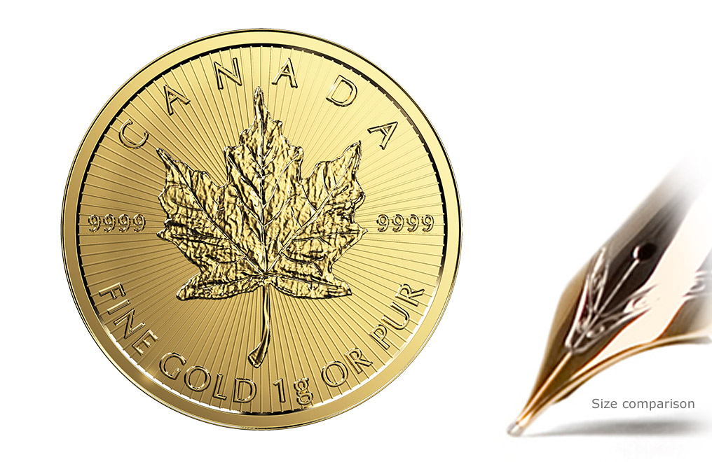 Buy 1 gram Gold MapleGram Coins (Random Year), image 5