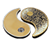 Buy 2 oz Pure Silver Yin Yang Round - 24k Gold Plated, image 8