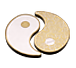Buy 2 oz Pure Silver Yin Yang Round - 24k Gold Plated, image 7
