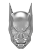 2 oz Silver BATMAN™ Mask Shaped Coin (2020)