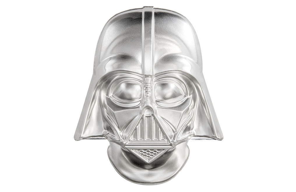 Buy 2 oz Silver Coin .999 - Star Wars - Darth Vader Helmet, image 0