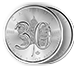 Buy 1 oz Silver Maple Leaf Coins - 25th & 30th Anniversary Set, image 2
