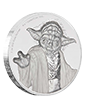 2 oz Ultra High Relief Silver Coin .999 - Star Wars - Yoda