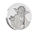 Buy 2 oz Ultra High Relief Silver Coin .999 - Star Wars - Yoda, image 0