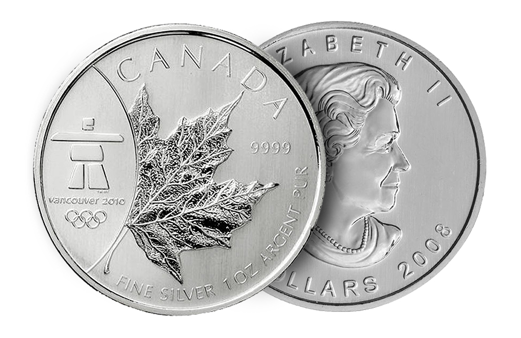 Buy 2008 1 oz Silver Maple Leaf Olympic Coins, image 2