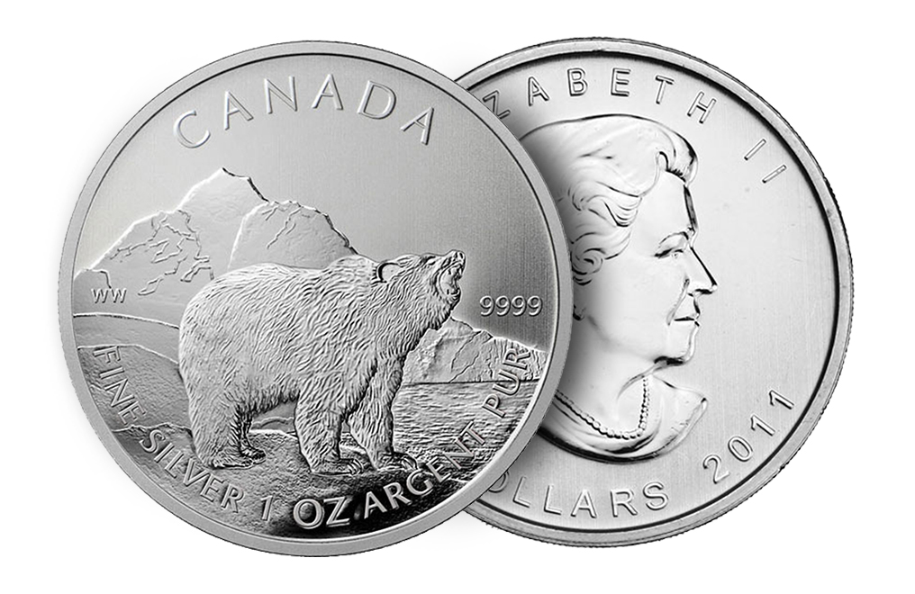 Sell Canadian Silver Grizzly Coins Sell Silver Coins Kitco