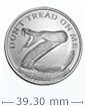 1 oz Silver ''Don't Tread On Me''- Silver Shield BU Round .999 (Random Year)