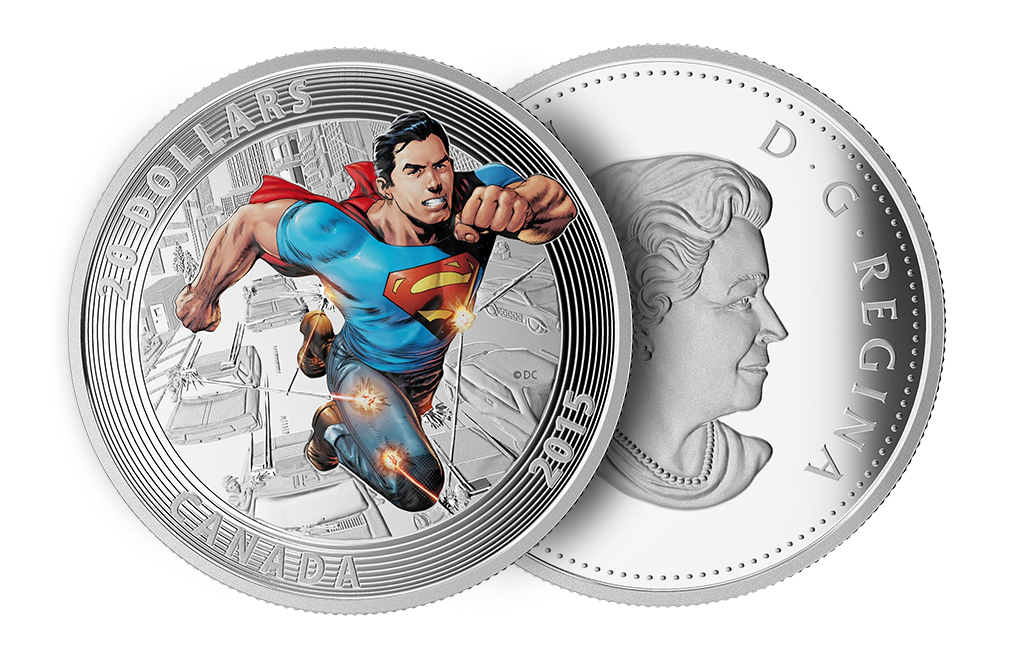 Buy 2015 1 oz Silver Superman Coins Action Comics #1 (2011), image 2