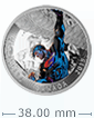 2015 1 oz Silver Superman: Superman Unchained #2 (2013) Coin