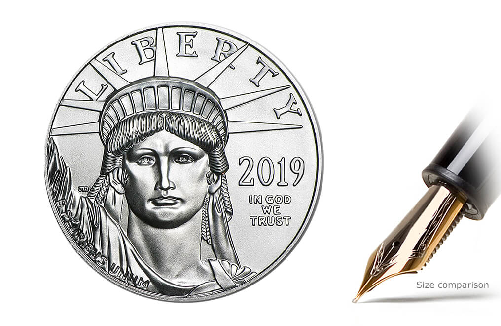 2016 1 oz Platinum American Eagle Coin, image 0