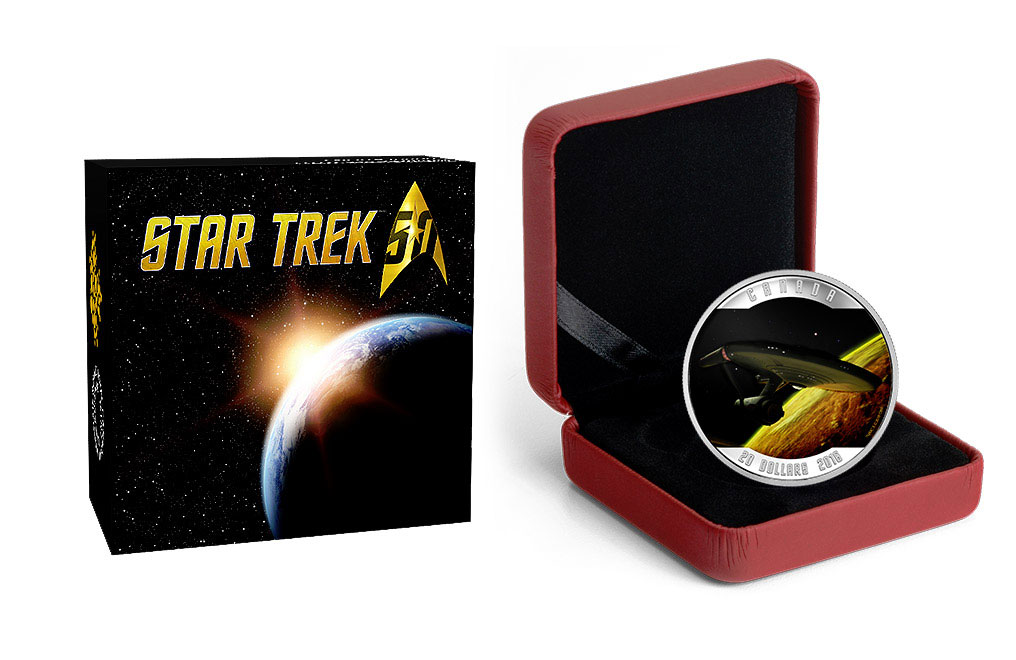 Buy 2016 1 oz Silver Star Trek™ Enterprise Coins, image 3