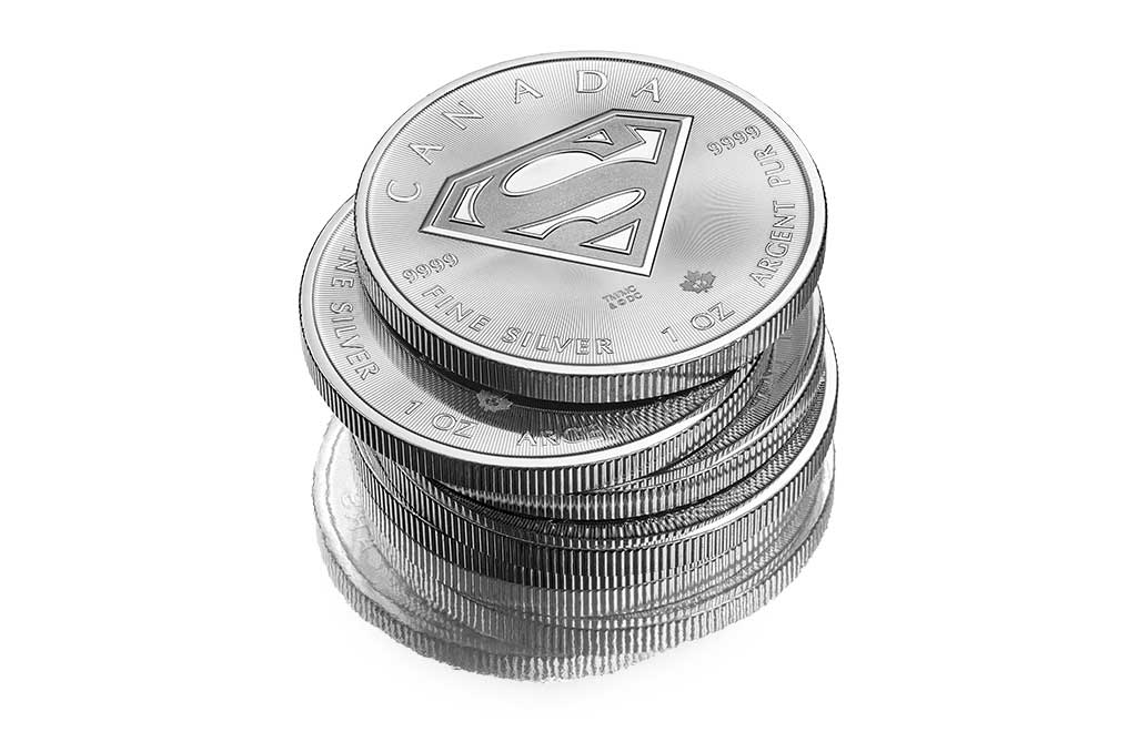 Buy 2016 1 oz Silver Superman Bullion Coins, image 2